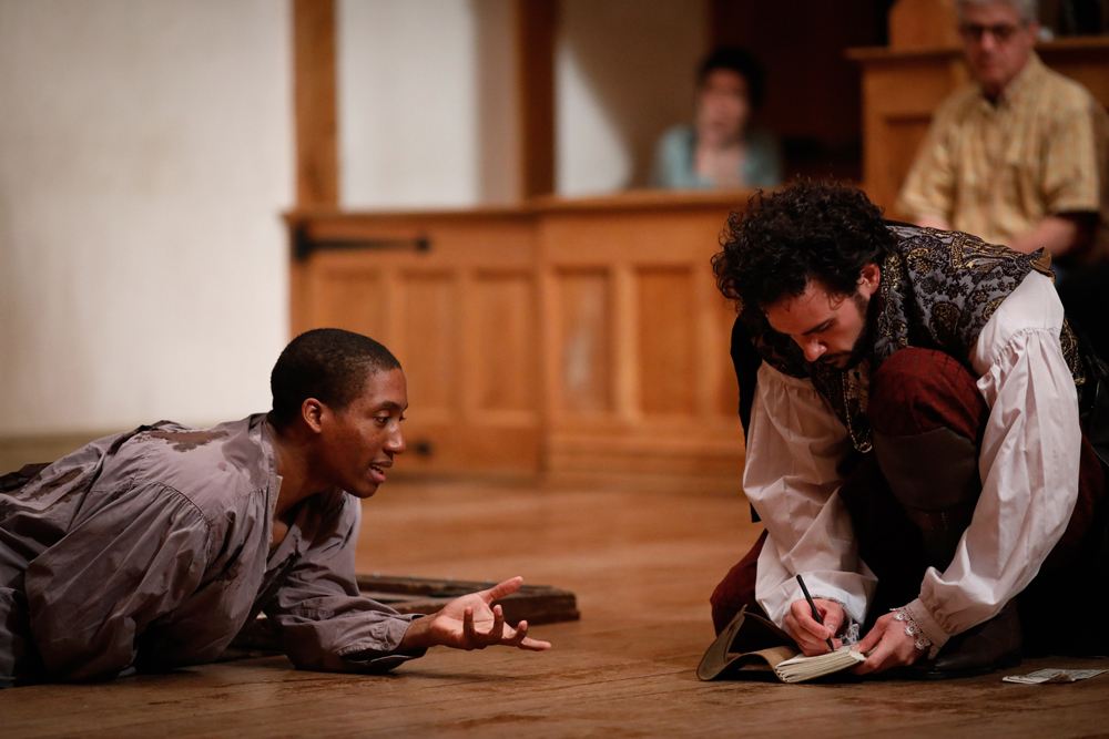 equivocation american shakespeare center blackfriars playhouse