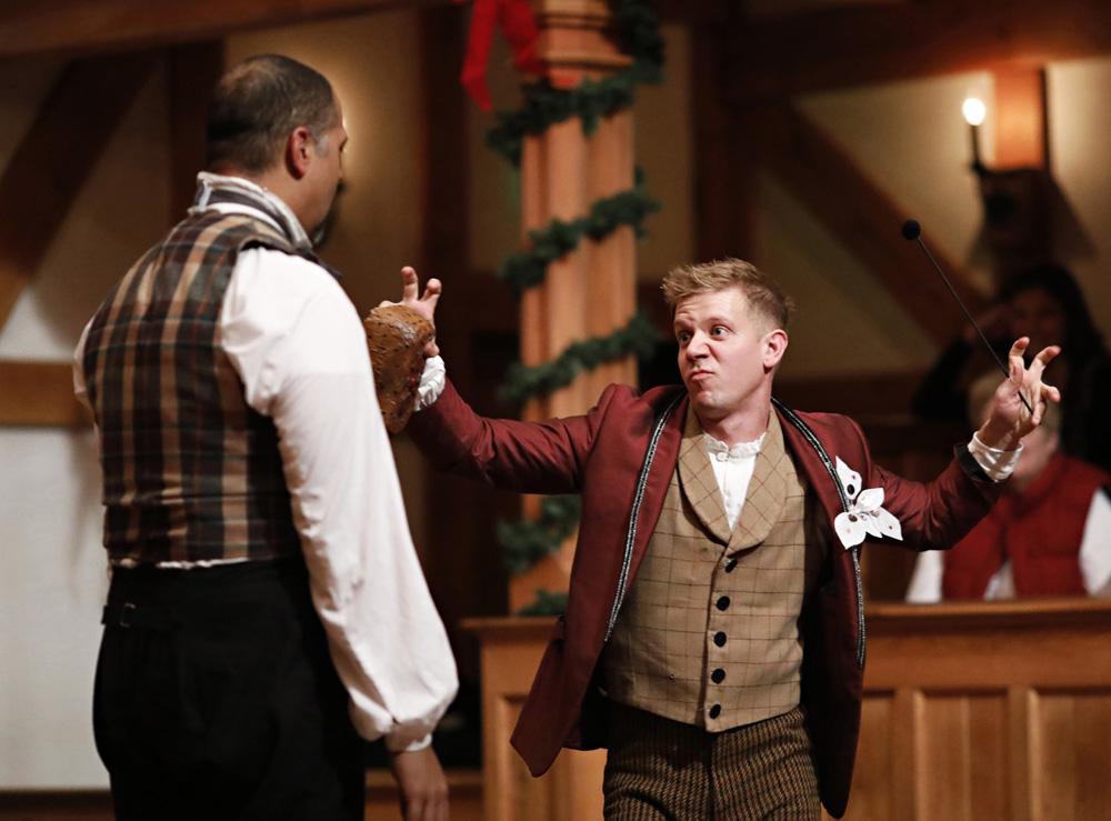 rene thornton benjamin reed every christmas story american shakespeare center