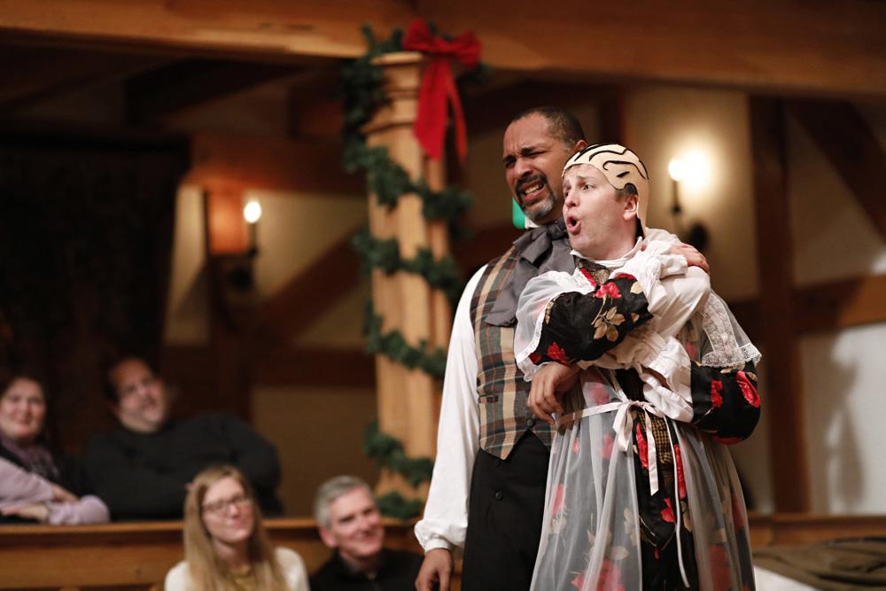 rene thornton chris johnston every christmas story american shakespeare center