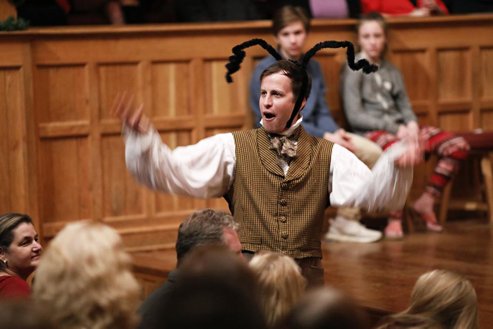 chris johnston every christmas story american shakespeare center