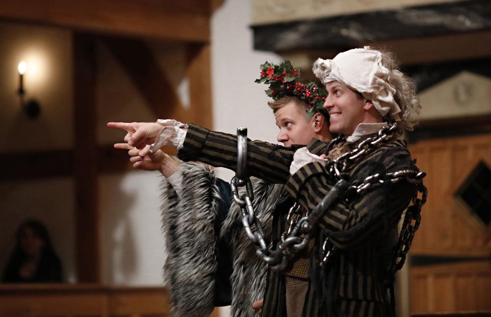 benjamin reed chris johnston every christmas story american shakespeare center