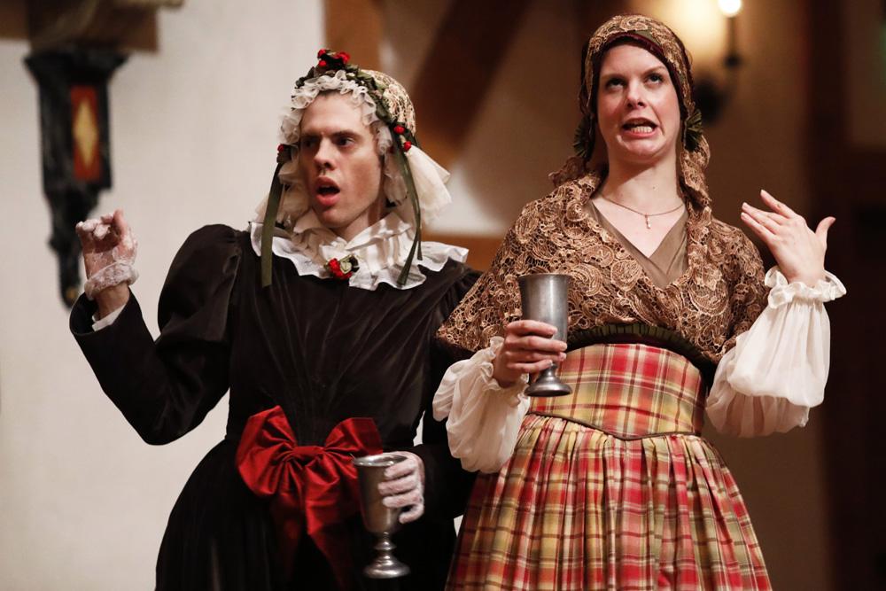 josh clark annabelle rollison christmas carol american shakespeare center