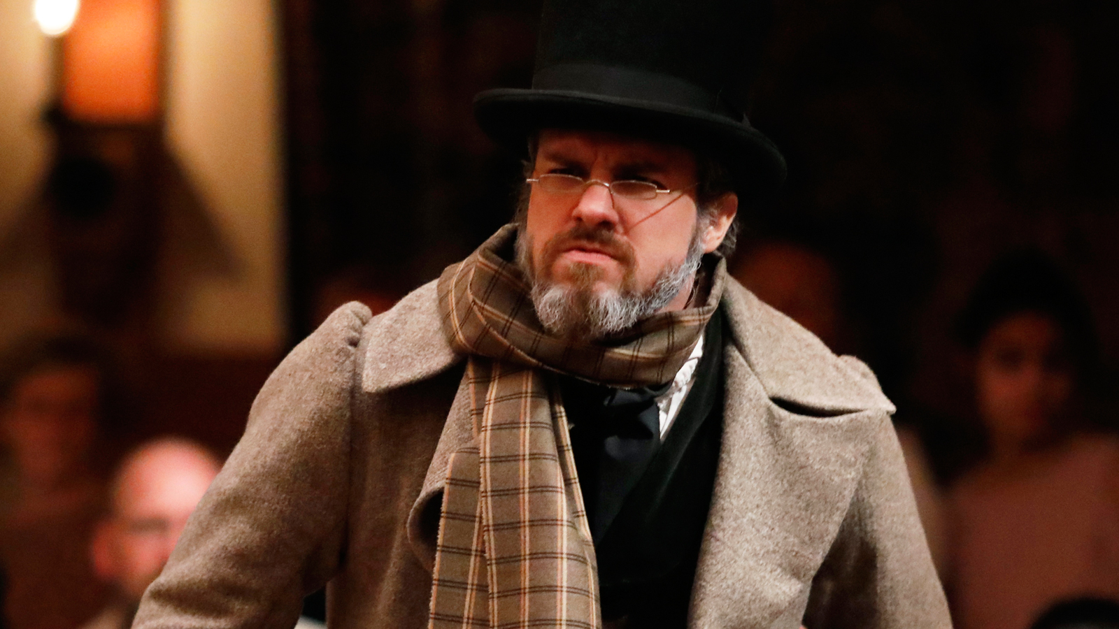 jc long scrooge a christmas carol american shakespeare center
