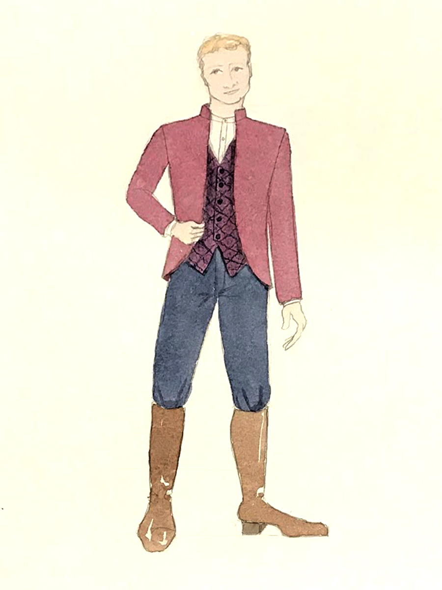 man of mode costume renderings