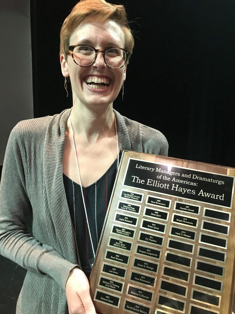 Anne G. Morgan Elliott Hayes Award