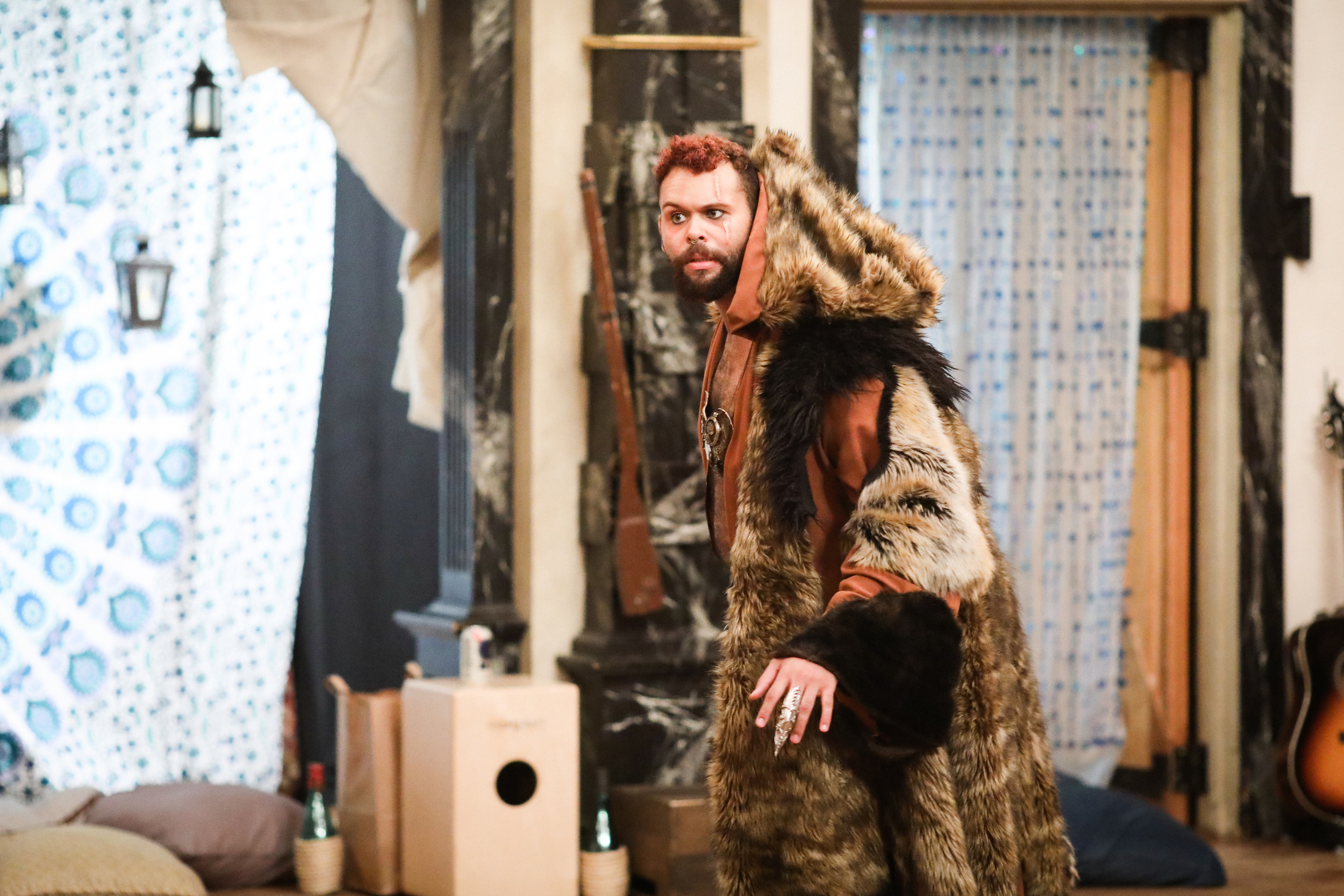 Topher Embrey in 16 Winters, or the Bear's Tale