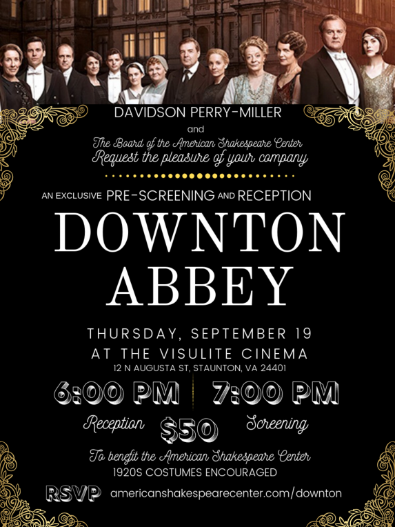 Downton Abbey Movie Pre-screening Preview Event