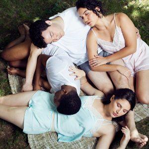 Midsummer lovers sleep in A Midsummer's Night Dream