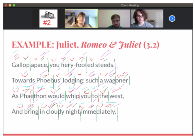 Zoom Annotation Example from Romeo and Juliet